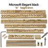 Microsoft Negro elegante