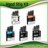 Original Vgod Stig Pod Starter Kits 270mAh Battery Charged Disposable Vape Pen ECig Kit with 1.2ml Pods Portable 100% Authentic