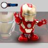 Dancing Iron Man Marvel Fingers Avengers Toys with Music and led light, for Child Boys Girls Gift