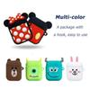 Cute DIY Silicone Case For Apple Airpods Accessories Special 3D Animal Soft Case Cover with Anti-lost Strap Decoration Gifts Toy