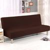 Universal Sofa Cover Solid Color All-inclusive Folding Stretch Sofa Bed Sofa Cover Protector Slipcover without Armrests Home Decoration