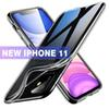 Guranteed perfect fit For 2019 NEW iPhone 11 XR MAX Crystal Gel Case Ultra Thin transparent Soft TPU Clear Cases For Samsung S10 E Note 10 9