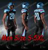 Siyah Erkekler Boyut S-5XL