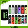 Nord Kit 1100mAh Pod System Kit Regular New Resin Colors with Nord Pod Cartridge 3ml Mesh & Regular Coils for Sub-ohm & MTL Vaping