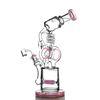 Gili-100 rose avec Banger quartz