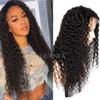 Full Lace Human Hair Wigs Curly With Baby Hair Virgin Hair 150% Density Bleached Knots Natural Hairline Lace Front Wigs