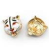 Metal Tiger Head Button Diy Sewing Accessories Animal Tiger Diy Button Clothing Accessories High Quality Wholesale