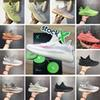 With Stock X Box Kanye West Antlia GID Pink Black Static Clay Running Shoes Mens Womens Designer Sesame Zebra Sneakers Trainers Size us5-13