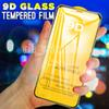 9D Full Cover Tempered Glass Screen Protector for iPhone XR X XS 11 Pro 7 8 Plus 6 6s Max OnePlus 7T A50 A10e, No Retail Package