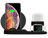 QI Wireless Charger Stand For IPhone 8 Plus X XS Max XR Wireless Charging Dock Station 3 In 1 For Apple AirPods Apple Watch 2 3 4 + box 1pcs