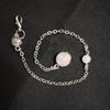 rose quartz beads chain