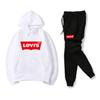 fashion 2018 women tracksuit women sport suit white cheap sweatshirt and pant suit hoodie and pant set sweatsuit women