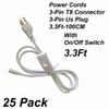 3Pin 3Ft Power Cords With Switch