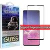 For Screen Protector Samsung Galaxy S10 S9 S9 Plus S10E S7 edge S10 5G VERSION 5D Full Coverage fingerprint unclock NO HOLE Tempered Glass