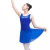 cc147c765f21 Backless Ballet Leotards With Skirt For Women Girls Sleeveless ...