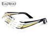 e9ecb91c7f196 Compre Puro Titanium Óculos Sem Aro Frame Ótico Prescrição ...