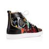 c48e9256e72 SS18 Collection Mens Patent Leather With Graffiti Red Bottom ...