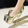 Großhandel Legzen Großhandel Mode Frauen Pumps Plattform Runde Zehe High Heels Mary Jane Frau Schwarz Party Schuhe Für Frauen Von Legzen, $54.42 Auf