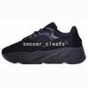 Designer 700 Wave Runner Chaussures de course pour Femme Mens Kanye West 700s Static 3M Refletive Mauve Multi Solid Gris Respirant Baskets