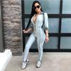 4f5340867a 2019 REDCORE Striped Bodysuit Rompers Womens Jumpsuit Ladies ...