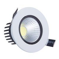 Os downlights Recessed diodo emissor de luz do teto do COB Dimmable da luz do diodo emissor de luz 9W para baixo iluminam-se de luz de techo para a iluminação home decoram