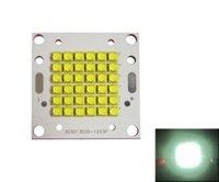60-90W / 72-100W Cree XT-E XTE 4800K Blanco puro 2-3A Led módulo Chip Light Placa de cobre placa PCB 10 unids / lote