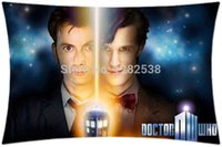 TDavid Tennant Doctor Who Tradis Serie Tv Funda de almohada con estampado de 2 lados grande- Holmes-Pillow-Cover-gift-star-cotton