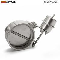 EPMAN - NEW ر فراغ المنشط العادم انقطاع / تفريغ الضغط 102MM إغلاق نمط: حوالي 1 BAR EP-CUT102-CL