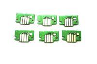 6個/ロット、キャノン用交換用インクタンクチップインクタンクIPF500 | 600 | 700; IPF510 | 710; IPF605 | 720プロッタインクカートリッジ