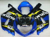 ABS fairing kit for SUZUKI GSXR 600 750 01 02 03 600 GSXR GS...