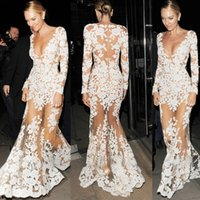 Zuhair Murad Dresses Long Sleeve Evening Dresses Mermaid Dee...