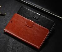 2016 Sling Purse per Meizu Meilan Custodia in metallo di lusso Flip Stand colorato originale portafoglio Custodia in pelle per Meizu Meilan Metal