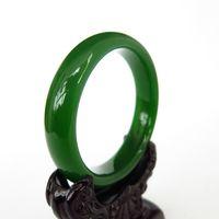 Venta al por mayor -Ms pulsera venta directa de fábrica, pulsera de Jade verde envío gratis