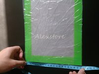 Silikonwachs Pads trocken Kräutermatten groß 20cm rund oder 31 * 20cm quadratisch matt Tupferblätter Gläser Tupferwerkzeug für Silikonbehälter vape DHL