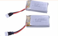 RC Toys Battery for FY310/Top Selling X6/H107L X4/JXD385/JD385 6CH RC 6-Axis Quadcopter drone Spare Parts/bateria drone 3.7v 300mah 2pcs/Lot