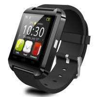 MOQ20 шт. Bluetooth Smart Watch U8 Наручные часы цифровые спортивные часы для IOS Android Samsung телефон Носимых Электронных Устройств U 8