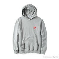 Men' s Pullover Hoodies Heart Printed Coat Fashion Brand...