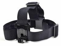 Gopro 액세서리 탄성 조절 가능한 나일론 헤드 스트랩 벨트 머리 밴드 카메라에 대 한 마운트 어댑터 HD 영웅 1 2 3 3 + sj4000