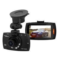 """2.7 """"Araba Dvr 170 Geniş Açı Ile 1080 P Araba Kamera Kaydedici G30 Hareket Algılama Gece Görüş G-Sensor Dvr Dash kamera Kara Kutu"""