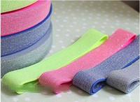 Elastik Naylon Dokuma Askı 25mm Genişlik DIY Dokuma Bant 4 Renkler 45 Yds./lot / Renk Giyim Aksesuarları UCUZ