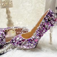 Kaufen Sie Im Grosshandel Romantische Brautschuhe Online Aus China