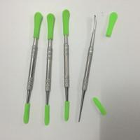 Tupfen Sie Werkzeuge, die Dabberwerkzeug Antihaft-Silikon-Spitzensilikonwachs-Dabberwerkzeug-Titannagel sauberes Werkzeug für Gpen rauchen