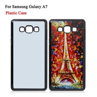 Samsung Galaxy A7 Cases DIY 2D Sublimation Heat Press PC Cov...