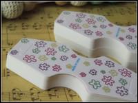 Kolye kağıt kartları marka yeni pembe takı ambalaj trendy kolye standı asmak etiketi bilezik etiket ekran kartları asılı etiketi A1-009 400 adet