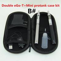 مزدوج السجائر الإلكترونية eGo T vape الأقلام كاتب أطقم البسيطة Protank المرذاذ 650mAh 900mAH 1100mAh بطاريات Ego-T VS TVR 30 box mod kit