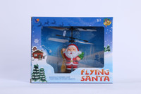 100pcs - Weihnachtsmann Flyer Flying Trapeze Flying Flyman Hand Induktion Flugzeug Suspension Aircraft