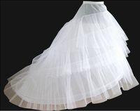 اكسسوارات الزفاف الأبيض حورية البحر الزفاف تنورات زلة 1 هوب العظام الفتيات قماش قطني أونديسكيرتس لفساتين الزفاف