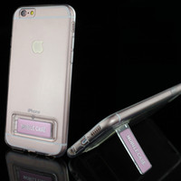 Casos de telefone celular para o iphone 6 6plus 6 s 6 splus com suporte titular tpu capas de telefone celular