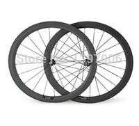 Bicicletas de rodas de carbono 700c 50mm OEM clincher carbono rodas para roda de bicicleta de estrada novatec hubs 23mm de largura jantes de estrada de carbono bicicleta