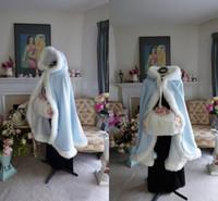 2021 New arrival free shipping Wedding Bridal Wraps Winter Bridal Jackets Furs Warm Bridal Cape